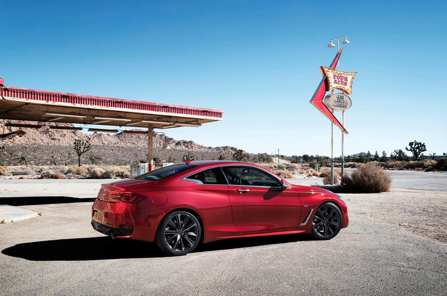 Infiniti Q60 S 3.0T Sport Tech static rear