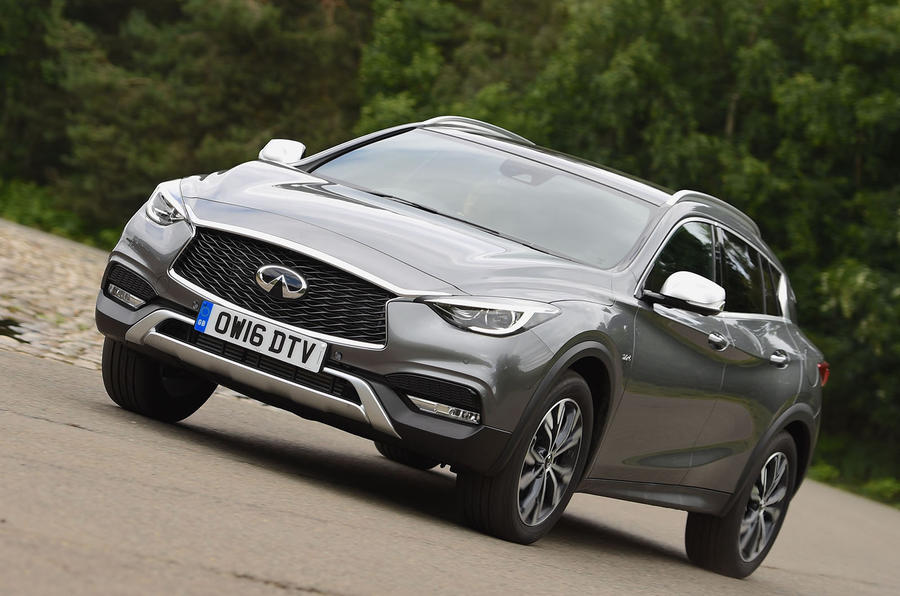2016 infiniti qx30 premium tech review review autocar. Black Bedroom Furniture Sets. Home Design Ideas