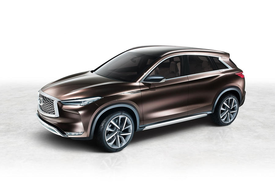 Infiniti QX50 edges closer to production