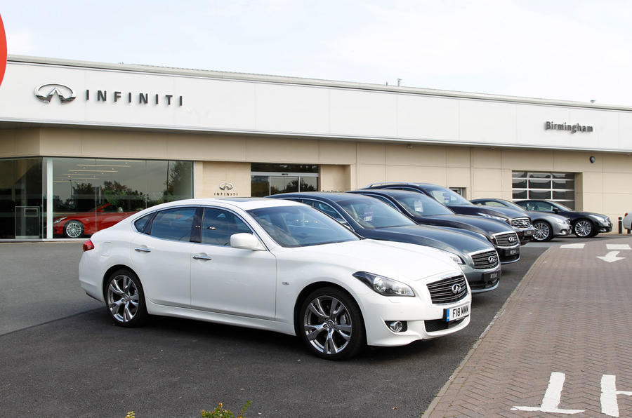 Nissan's luxury brand Infiniti leaves Britain