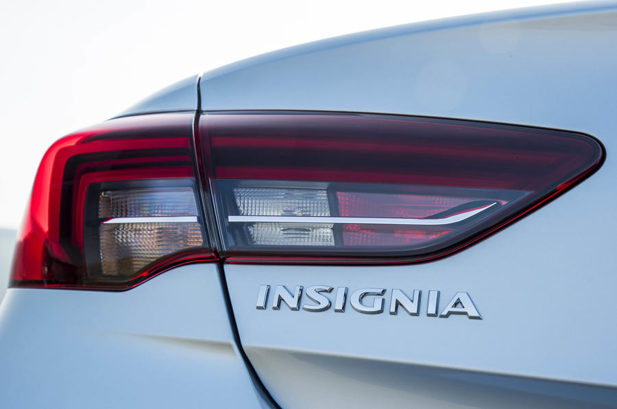 Vauxhall Insignia Grand Sport left tail-light