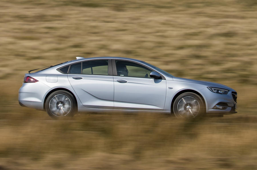 Vauxhall Insignia Grand Sport side view