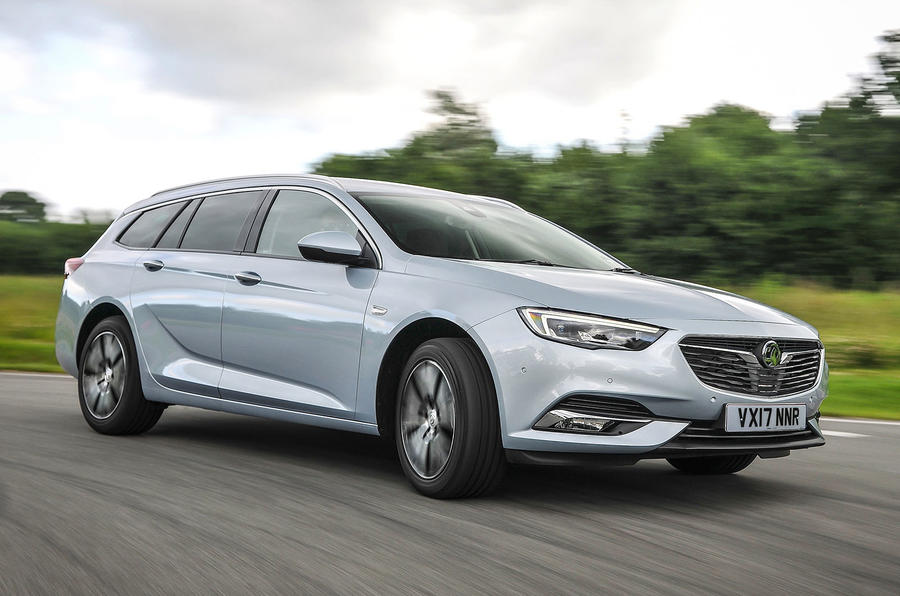 Vauxhall Insignia Sports Tourer cornering