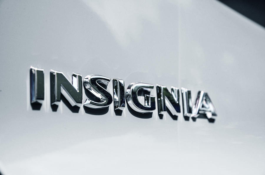 Vauxhall Insignia Sports Tourer boot badge