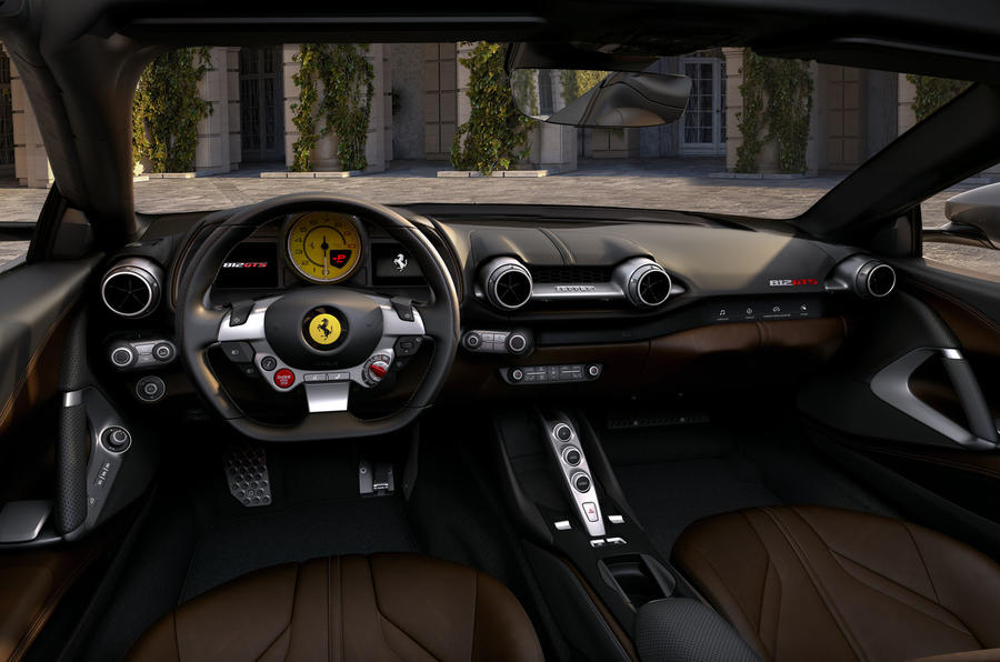 Ferrari 812 GTS - static interior