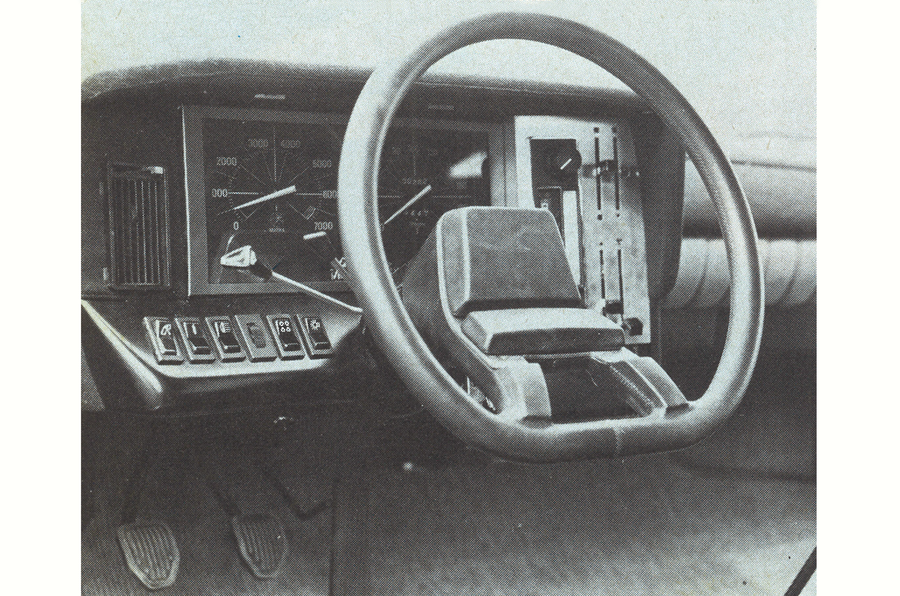 1974 Matra-Simca Bagheera interior