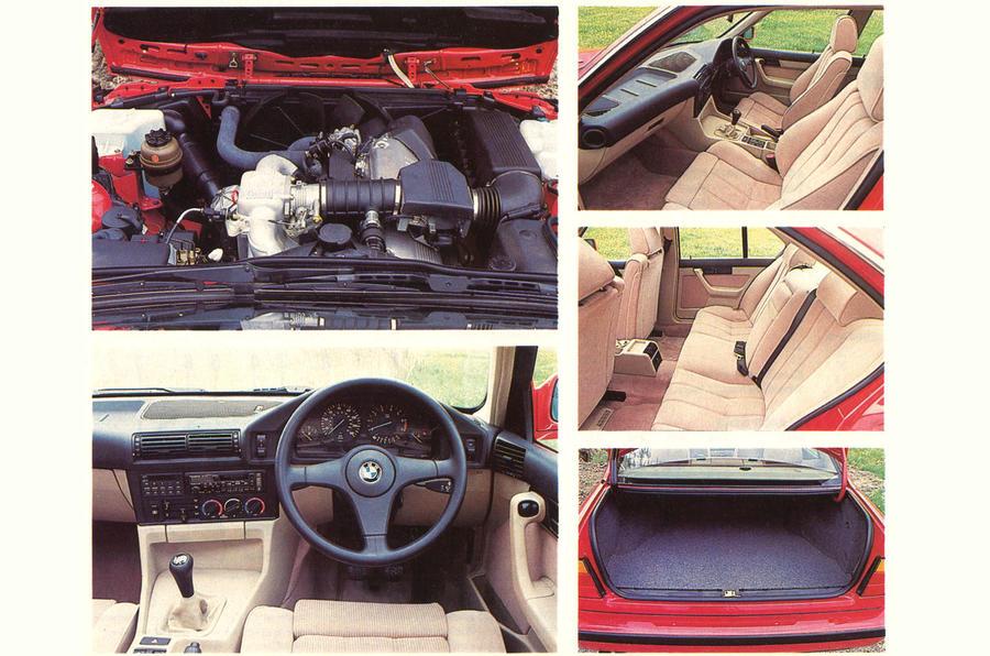 E34 BMW 5 Series interior shots