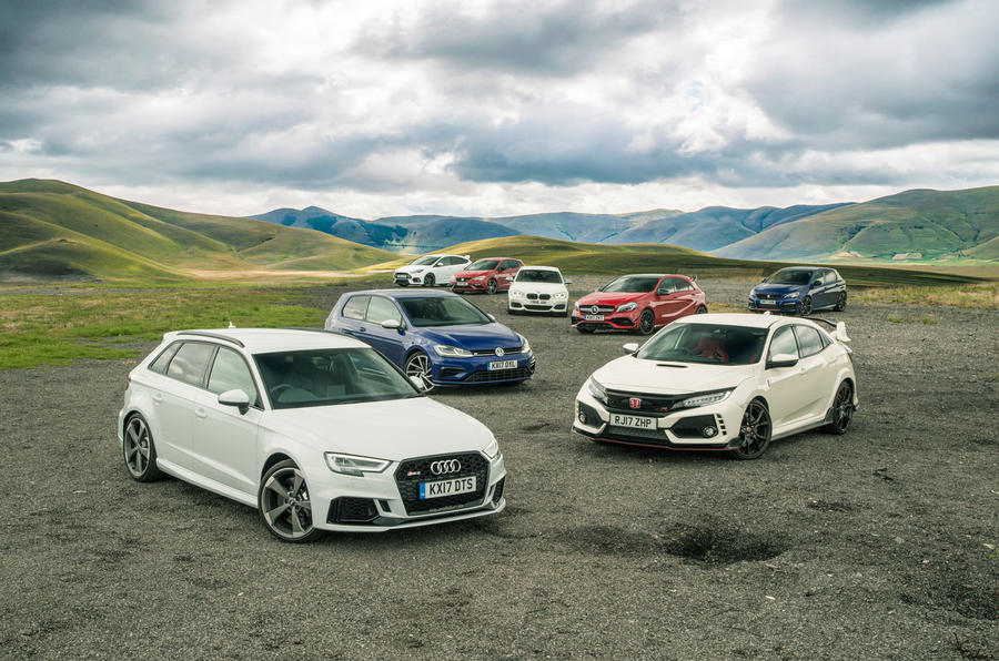 Britain\'s best affordable driver\'s car: how our hot hatch mega-test ...
