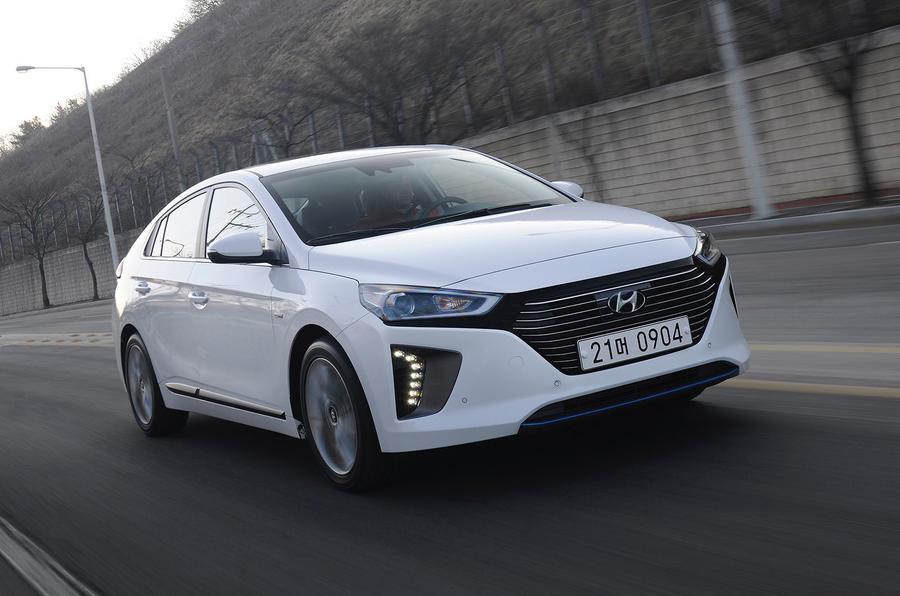 115mph Hyundai Ioniq HEV