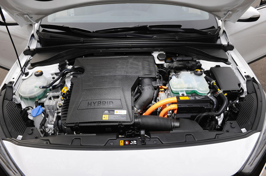 Hyundai Ioniq HEV hybrid engine