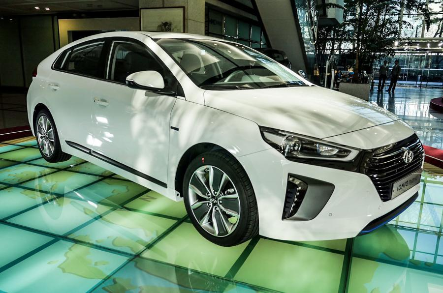 Hyundai Ioniq revealed