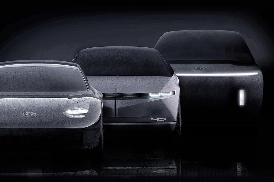 Hyundai Ioniq EV line-up - Prophecy, 45 and Ioniq 7