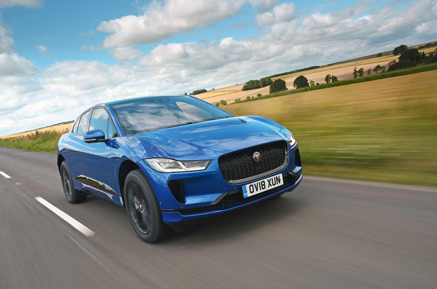 2018 Jaguar I-Pace hero front