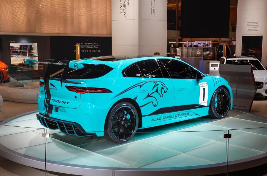 Jaguar I Pace Etrophy Racing Series Starts In December