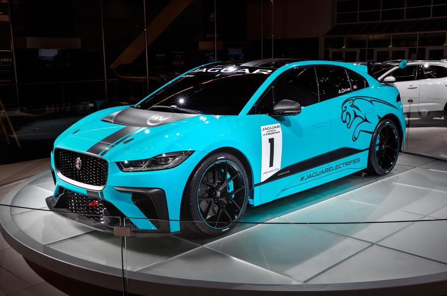 Jaguar I Pace Etrophy Racing Series To Support Formula E