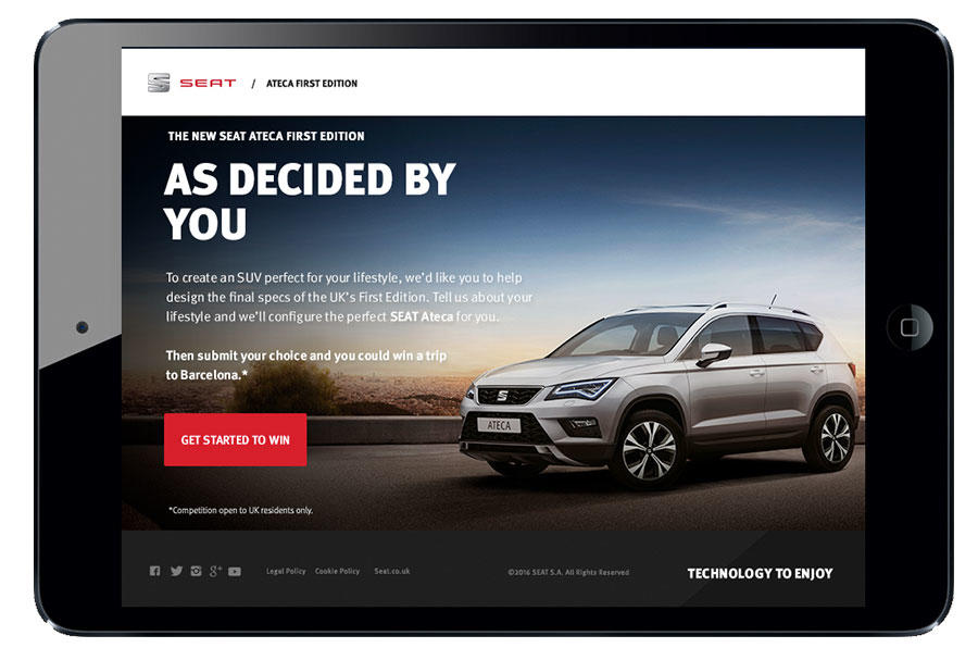 Users can help determine the specifications of the first UK edition Ateca