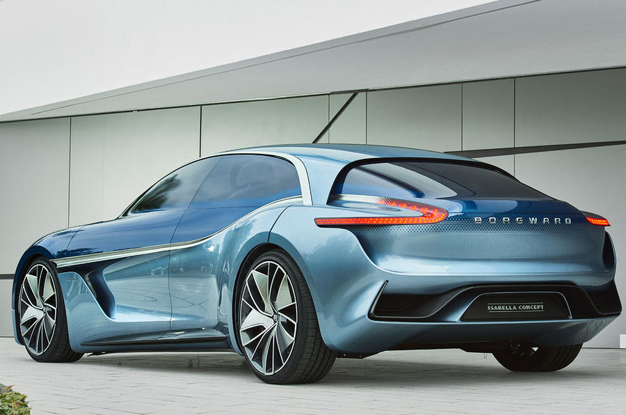 Borgward sports car concept previewed ahead of Frankfurt motor show