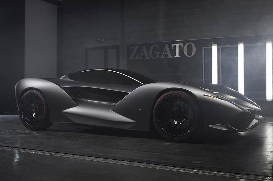 Zagato Creates New Lamborghini L595 Roadster Autocar