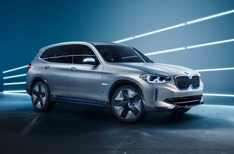 BMW unveils new electric iX3 concept