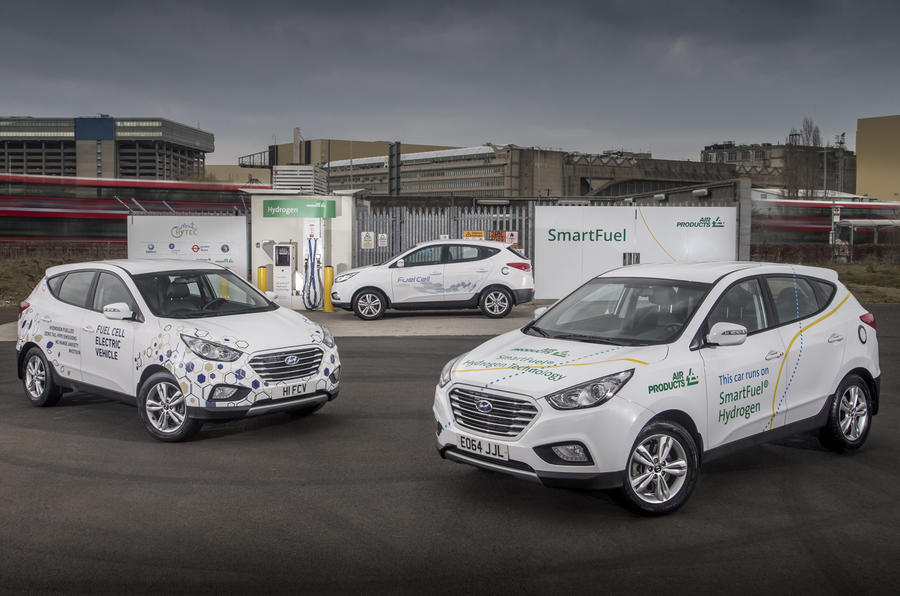Hyundai ix35 hydrogen fuel cell replacement