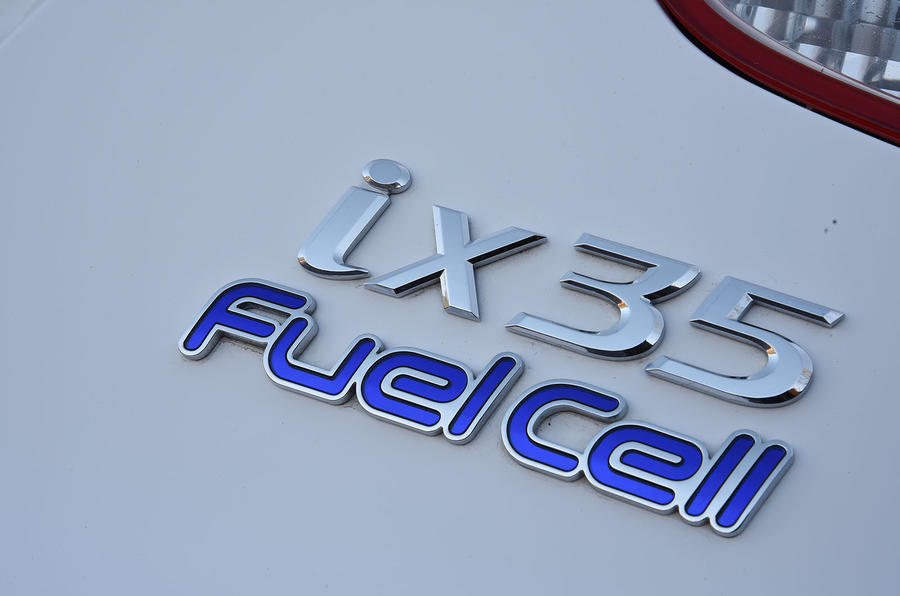 Hyundai ix35 Fuel Cell badging