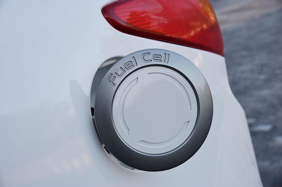 Hyundai ix35 FCV filler cap