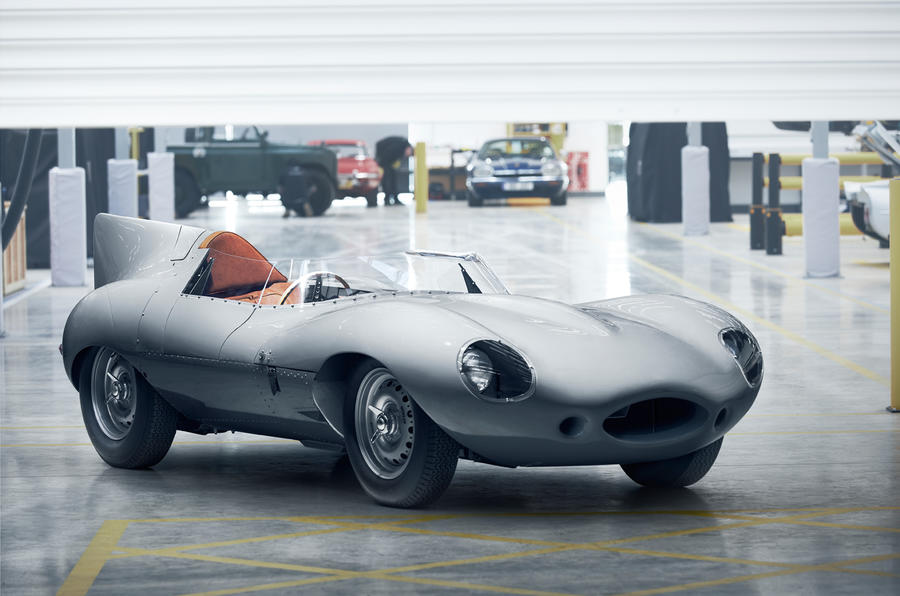 Jaguar restarts production of classic vehicle