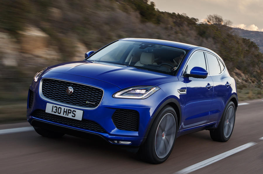 Jaguar E-Pace gets tech and engine update