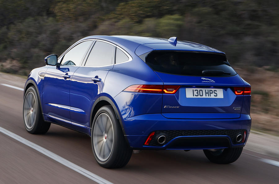 Jaguar E-Pace range updated with new engine and AI tech