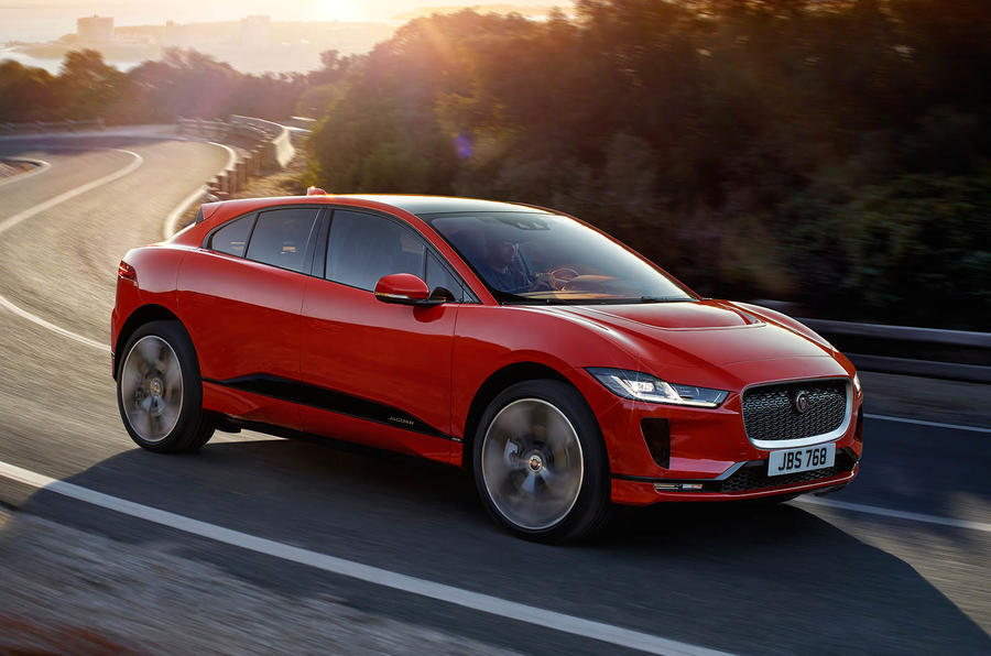 The Jaguar I-Pace Takes On Tesla's Model X at the Track