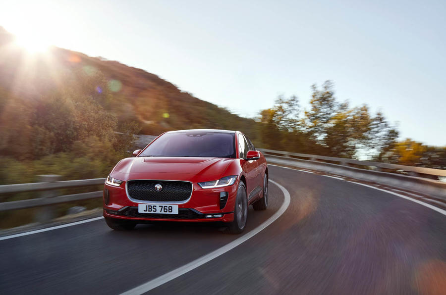 Jaguar I-Pace electric vehicle priced at Tesla-rivaling $70495