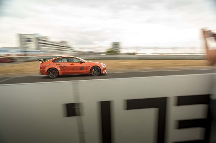 Jaguar XE SV Project 8 breaks own Nurburgring lap record