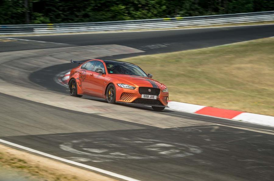 Jaguar XE SV Project 8 topples its own Nurburgring record