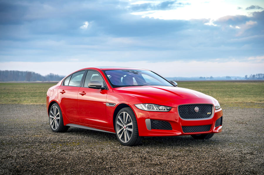 Jaguar XE slides into records with ice rink stunt