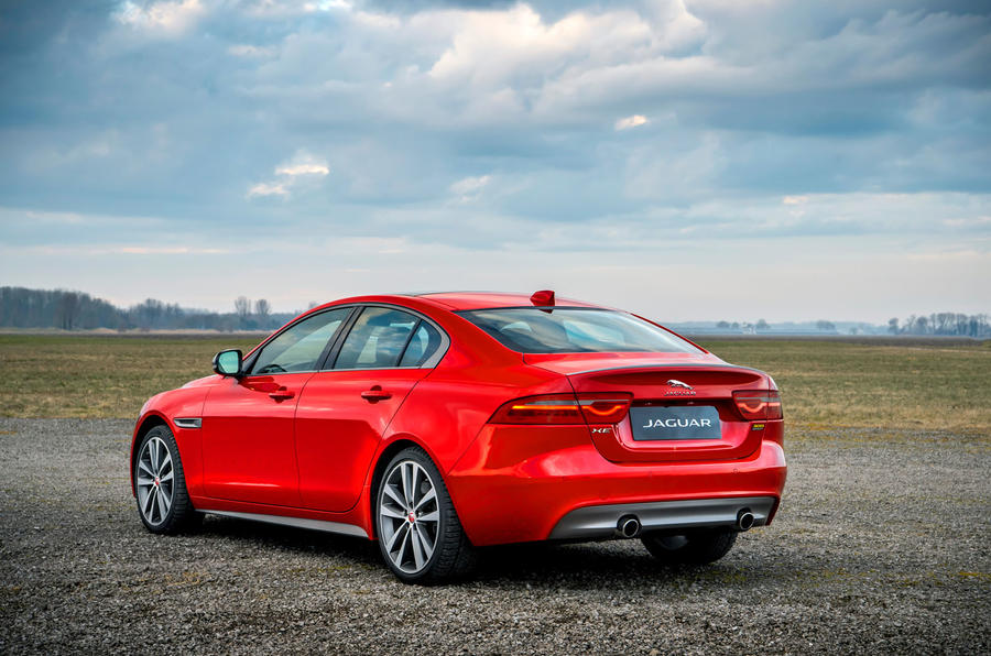 Jaguar introduced the new modification of the sedan XE and XF