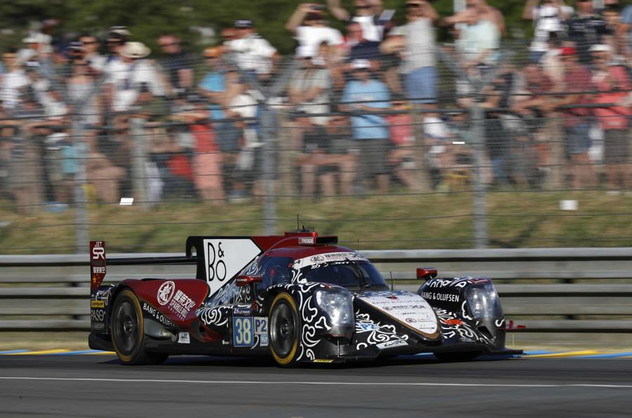 Jackie Chan DC Racing Le Mans