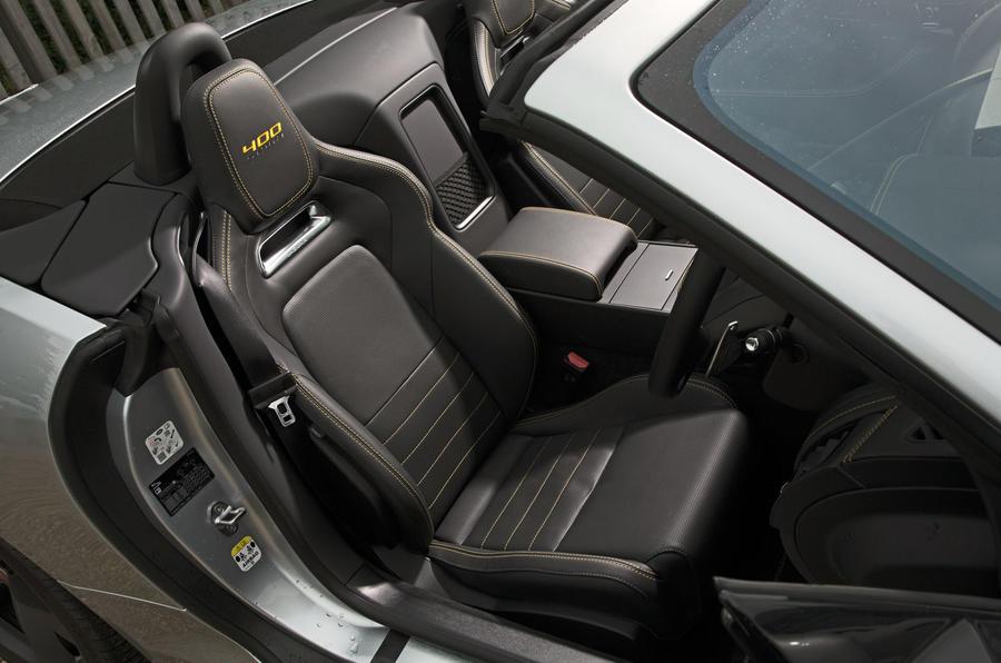 Jaguar F-Type 400 Sport interior
