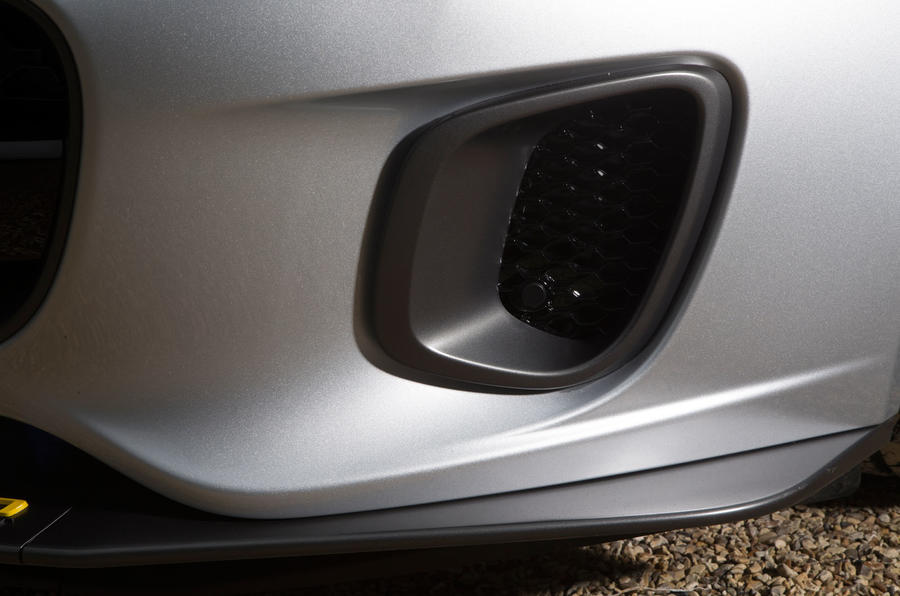 Jaguar F-Type 400 Sport air vents