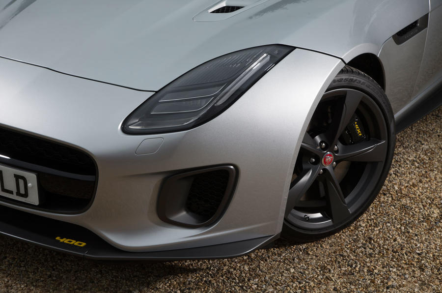 Jaguar F-Type 400 Sport front end