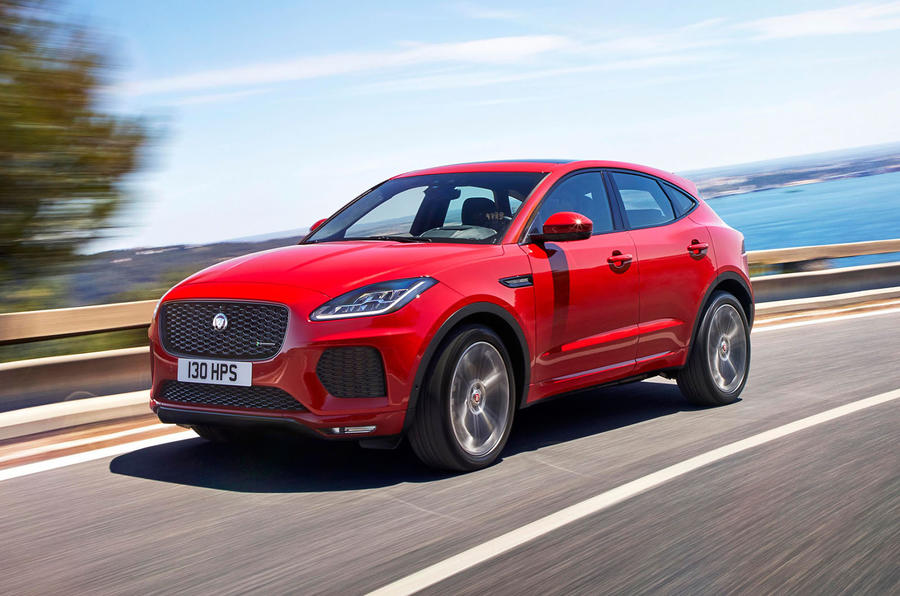 Jaguar E-Pace design