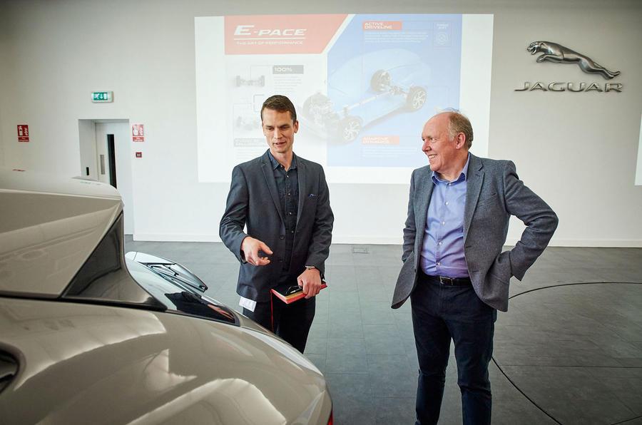 Jaguar design director Ian Callum