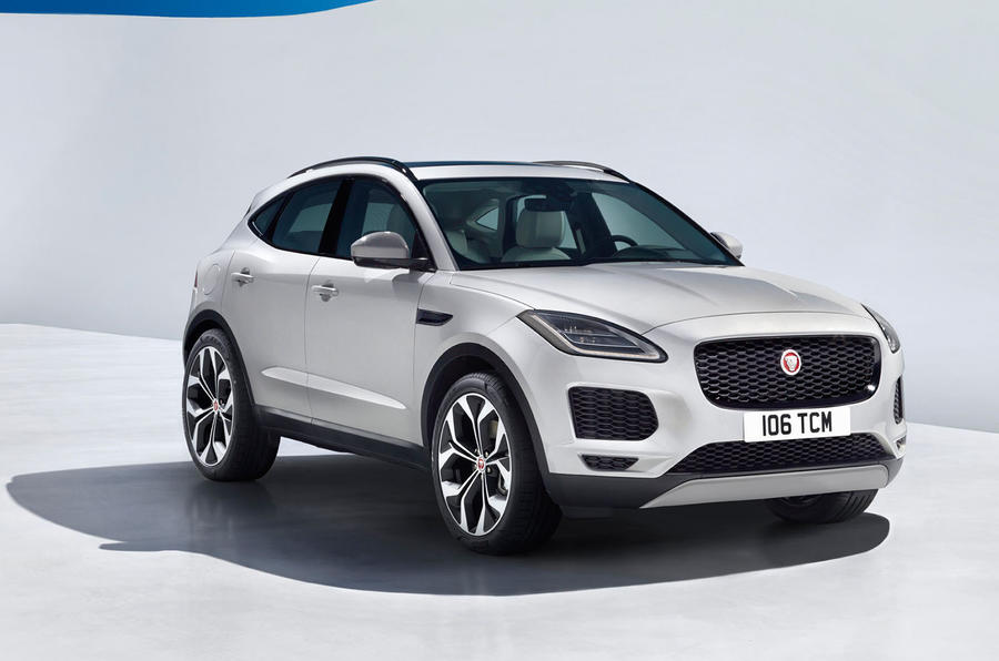 Jaguar E-Pace revealed