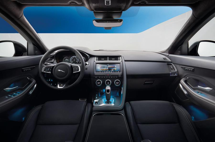 Jaguar e pace 2018 release date price specs and for Interieur jaguar e pace