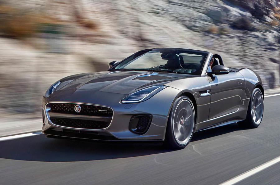 Captivating ... Jaguar F Type MY2018 ...