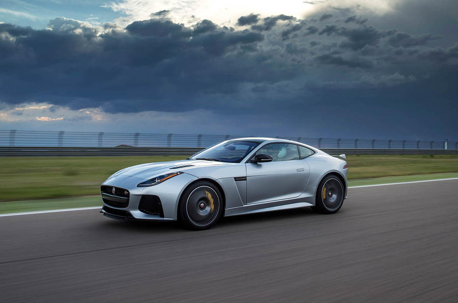 £110,000 Jaguar F-Type SVR