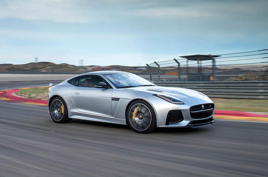 2016 jaguar f type svr review autocar. Black Bedroom Furniture Sets. Home Design Ideas