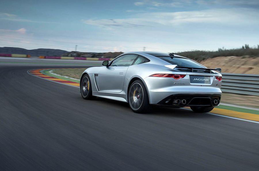Jaguar F-Type SVR rear quarter