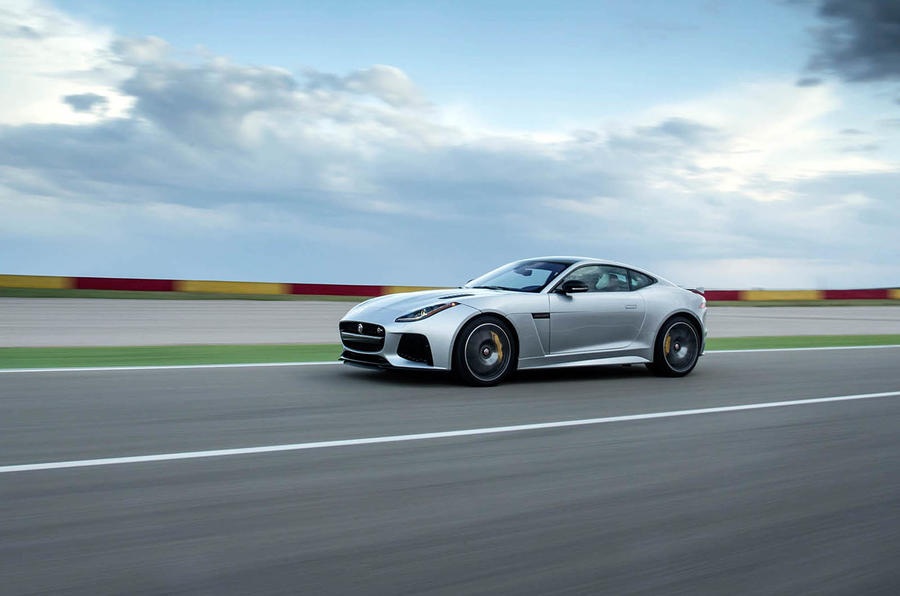 Jaguar F-Type SVR side profile