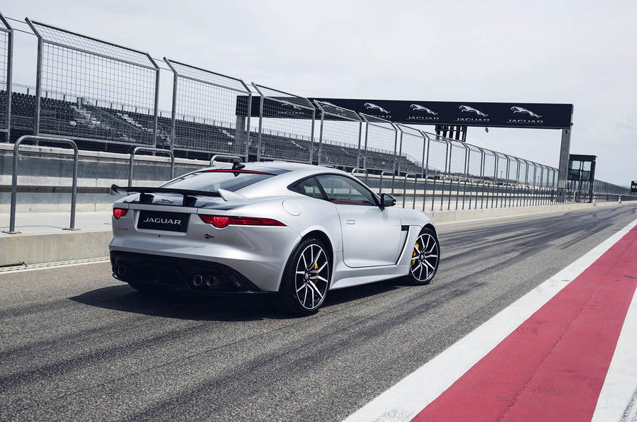 Jaguar F-Type SVR rear profile