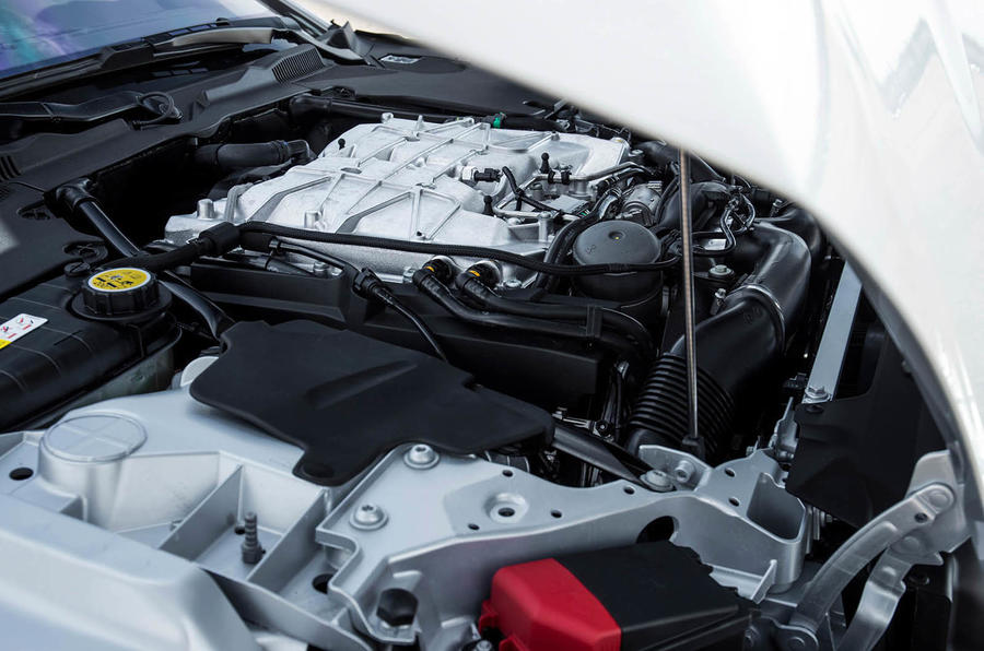 5.0-litre V8 Jaguar F-Type SVR engine